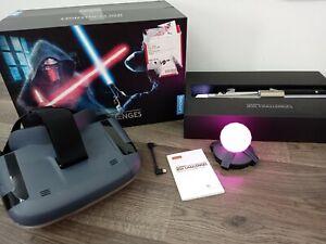 Lenovo Star Wars Jedi Challenges Lightsaber AR VR Game Headset pre owned
