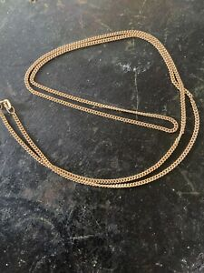 9ct Gold 23 Inch Chain In Lovely Condition