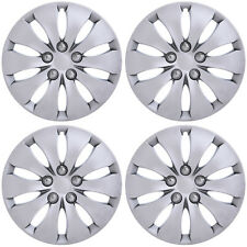 "4PC Fits 2008 2009 2011 2012 HONDA ACCORD 16"" INCH SILVER HUBCAPS Wheel Covers"