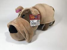 "FlipaZoo Transforming Plush 14"" Bulldog-Cat and Little FlipZees 5"" Giraffe-Hippo"