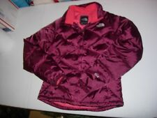 The North Face 550 Down Fill Nuptse Winter Coat Puffer Burgundy Women's XS