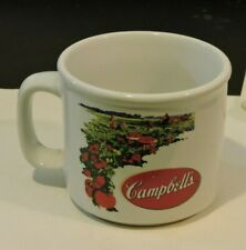 Campbell Soup Cup Mug Tomato Field Picture