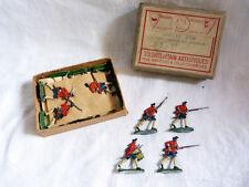 Plats d'étain KIEL en boîte EPL (E.Lelong) - 25 mousquetaires anglais 1750