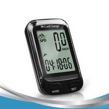 CoolChange Bike Computer Waterproof Wired Wireless Multifunction Bicycle LCD Com