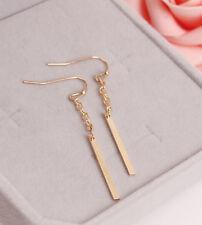 Fashion Gold Chain Tassel Stick Earrings. Women Jewellery Drop Stud Tassles