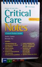 CRITICAL CARE NOTES:CLINICAL POCKET GUIDE , 2/E BY JONES JANICE