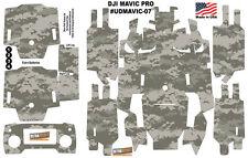 DJI Mavic Pro Skin Wrap Decal Sticker Army Camouflage Battery Body Ultradecals