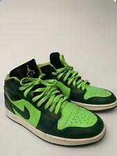 Nike Air Jordan 1 Gorge Green Hulk Mens Basketball Shoes Sneakers 9.5 Bred Royal