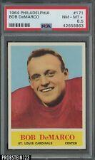 1964 Philadelphia #171 Bob DeMarco Cardinals PSA 8.5 NM-MT+ CENTERED