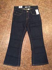 OSH KOSH girls boot cut leg DARK BLUE jeans - sz 8P - NWT