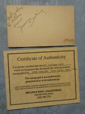 RARE SIGNED ORIGINAL W/COA JEAN DARLING 1944 INSCRIBED OUR GANG LITTLE RASCALS