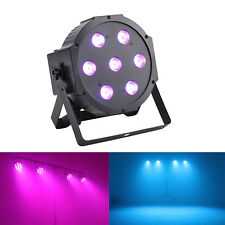 70W LED DJ Par Can Uplighting RGBW DMX512 Color Mixing Wall Wash Wedding Party