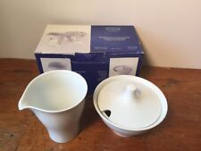 NEW Arzberg Move Collection Creamer & Sugar Bowl Porcelain Set, Made in Germany