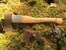 Bison 1879 - Spaltbeil 1250g + Schutz handgeschmiedet Beil Axt Outdoor Survival