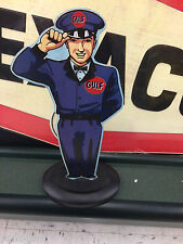 GULF STAND UP MAN MOTOR OIL GASOLINE  DISPLAY TEXACO SONOCO STANDARD SINCLAIR