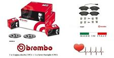 Dischi + Pastiglie Freno Anteriori Brembo Fiat Multipla 1.6 16v 1.9 JTD