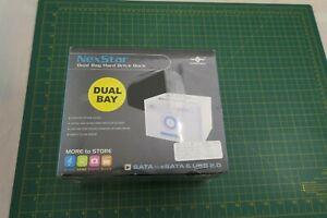 NexStar Dual Bay Hard Drive Dock