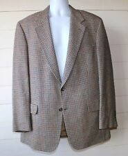 Vintage Brooks Brothers Men's 42R Blue,Red & Beige Check 2 Button Sports Coat