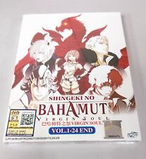 RAGE OF BAHAMUT VIRGIN SOUL Complete Anime TV Series Ep.1 - 24 End DVD Box Set