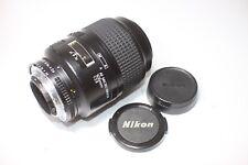 Excellent Nikon Micro Nikkor 105mm F/2.8 AF Lens Made In Japan