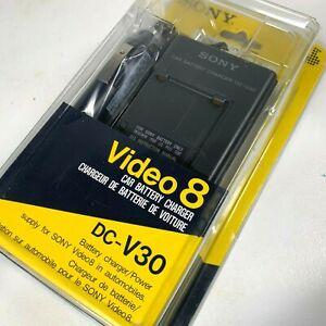 Sony Camcorder Video 8 Car Battery Charger DC-V30 for 12 & 24 volt DC Batteries