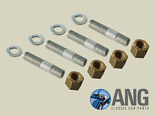 TRIUMPH TR4A, TR5 & TR6 EXHAUST DOWNPIPE TO MANIFOLD STUD & NUT KIT