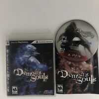 Demon's Souls (Sony PlayStation 3, 2009) Excellent Complete