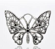 10 Pendentifs breloque charm Papillon 48x36mm