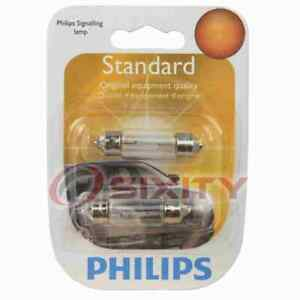 Philips License Plate Light Bulb for Saab 9-3 9-3X 9-5 900 9000 99 1980-2011 pa