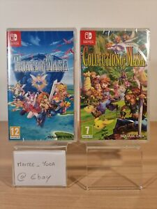 Trials Of Mana + Collection Of Mana Nintendo Switch Vf Neuf Fr Fra