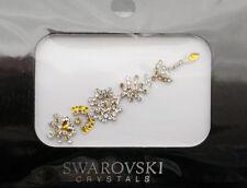 Bindi bijoux piel boda frente strass cristal de Swarovski dorada ING C 3670