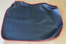Steib, tr500, protezione dalla polvere soffitto, in nero con bordo rosso