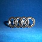 4 Cuscinetto a sfere SS 6806/61806 2RS/30 x 42 x 7 mm/Acciaio inox no ruggine