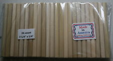24 Dop Sticks small/med cabs lapidary tool Made in America use with Dop Wax