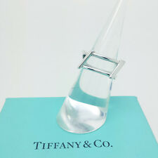Tiffany & Co Anello Argento Sterling Frank Gehry Open COPPIA Argento Anello Menta, real
