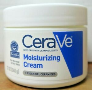 Cerave moisturizing cream 12oz Daily Face and Body Moisturizer New in Box