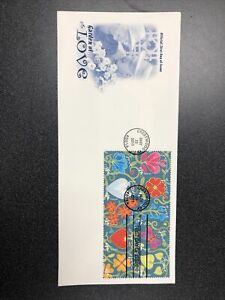 US 4531-40 Garden Of Love First Day Cover Complete Set Of 10 On A Artcraft Cover