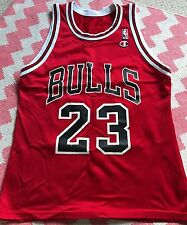 Chicago Bulls Vintage Débardeur Jersey Shirt 23 Jordan Rouge