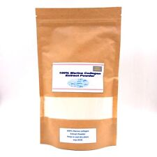100% Pure Marine Collagen Extract Powder Hydrolysed Peptides Anti Ageing 100 gm.