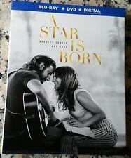 A STAR IS BORN Slipcover BLU RAY ONLY Bradley Cooper Lady Gaga Sam Elliott