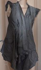 lluxueux gilet sans manches viscose mohair HIGH USE  taille 40 NEUVE valeur 490€