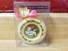 Plastic Precious Moments Figurine Bringing You A Merry Christmas Ornament 277754