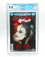 Harley Quinn #1 DC Comics Rebirth Sienkiewicz Variant Cover CGC 9.8 NM Free Ship