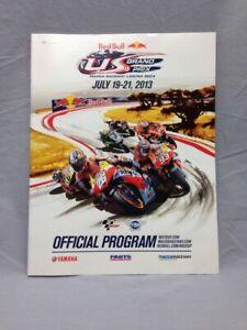 MotoGP Red Bull USGP Program 2013 Mazda Raceway Laguna Seca Nicky Hayden Rossi