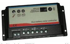 Regulateur de charge REGDUO deux batteries10A 12-24V CAMPINGCAR service