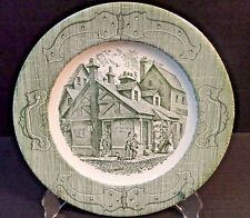 """The Old Curiosity Shop Royal China Dinner Plate 10""""  MINT!"""