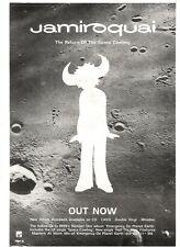 ARTICLE - ADVERT 5/11/94PGN28 JAMIROQUAI : RETURN OF THE SPACE COWBOY ALBUM 15X1