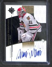 2009-10 Upper Deck Ultimate Collection Ultimate Signatures #US-AN Antti Niemi