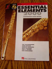 Essential Elements 2000 Flute Book 2 Good Condition With Practice CD