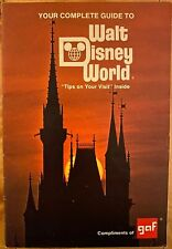 The Complete Guide to Walt Disney World 1976 - Vintage